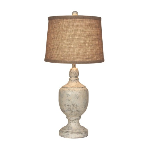 Stone Venice Urn Table Lamp